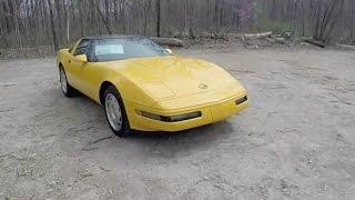 1994 Chevrolet Corvette C4 Coupe|Walk-Around Video|In-Depth Review|Test Drive