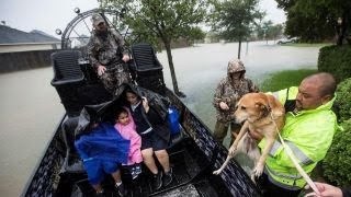 Inspired by Cajun Navy, Texas Navy volunteers rescuing Houston flood victims