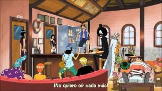 Luffy rechaza informacion del one piece