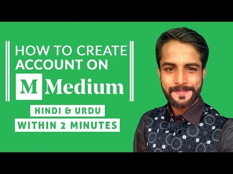 MEDIUM.COM Per Account Kaise Banaye | How To Create Account On MEDIUM.COM In Hindi Urdu In 2 minutes