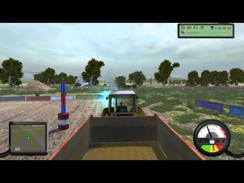Тракторный Беспредел в игре Farm Machines Championships