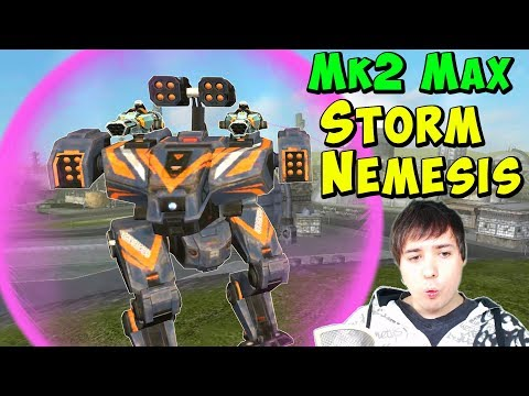 Perfect Combo: STORM NEMESIS Mk2 - War Robots Gameplay WR