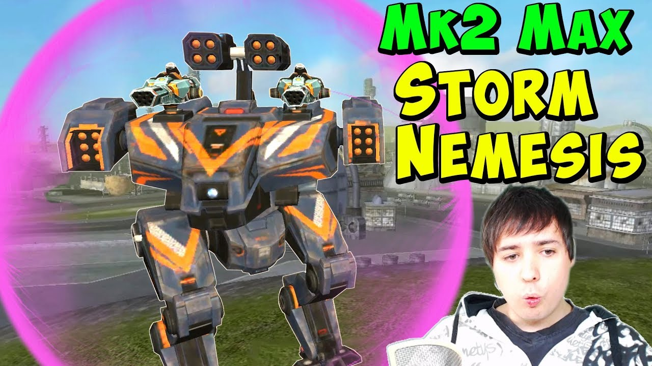 Download Perfect Combo: STORM NEMESIS Mk2 - War Robots Gameplay WR