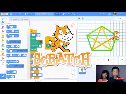 Secrets of Coding in SCRATCH: Programming a Super Scratch Drawer