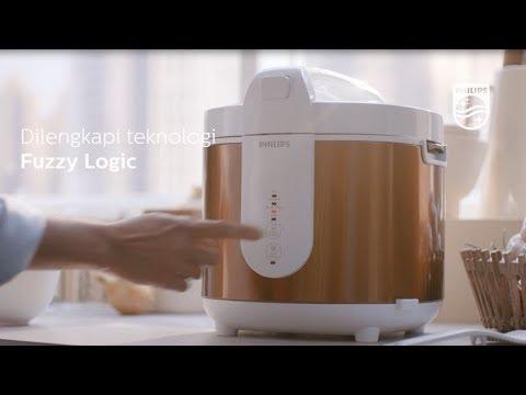 Rice Cooker Digital Philips Memasak Nasi Merah, Nasi Putih, Bubur, hingga Kue