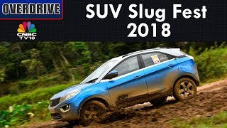 Overdrive | SUV Slug Fest 2018 | Testing Parameters For SUVs | CNBC TV18