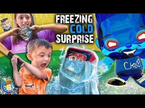 DON'T PRESS THAT BUTTON!! (FV Family Freezing Cold Surprise)