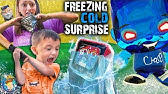 DON'T PRESS THAT BUTTON!!(FV Family Freezing Cold Surprise)
