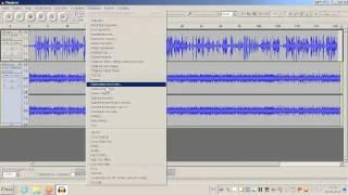 Аудио в VirtualDub, замена дорожки, редактирование в Audacity