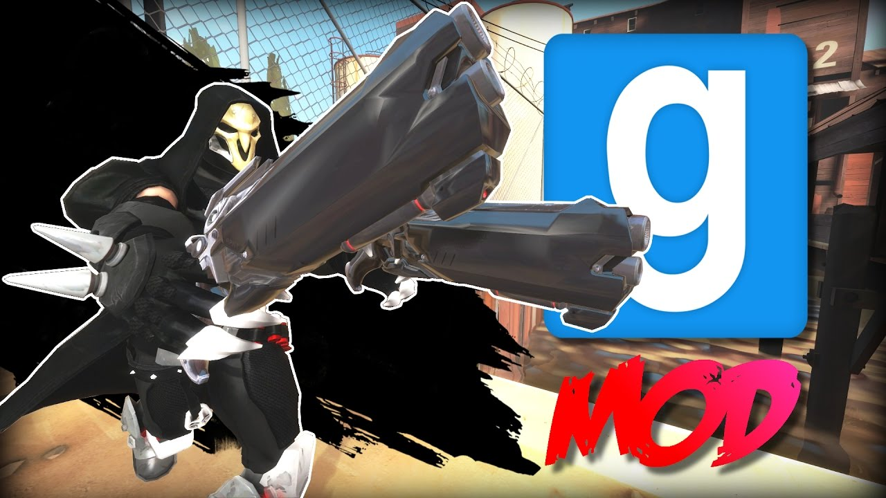 Garry's Mod: 3 AWESOME Mods #18 Overwatch