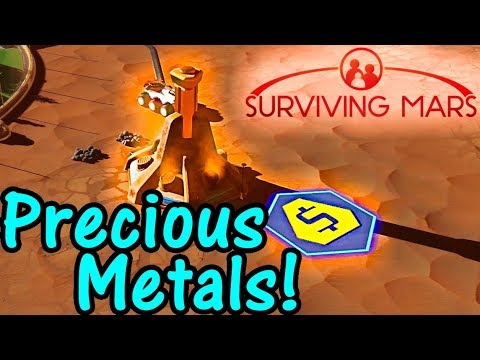 Let's Play Surviving Mars #6: Rare Metal!