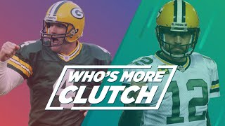 Who's More Clutch: Brett Favre Or Aaron Rodgers?