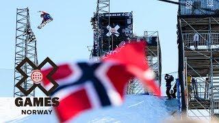 X Highlights: Snowboard Big Air | X Games Norway 2018