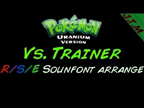 Pokemon Uranium - Trainer Battle (RSE Soundfont style)