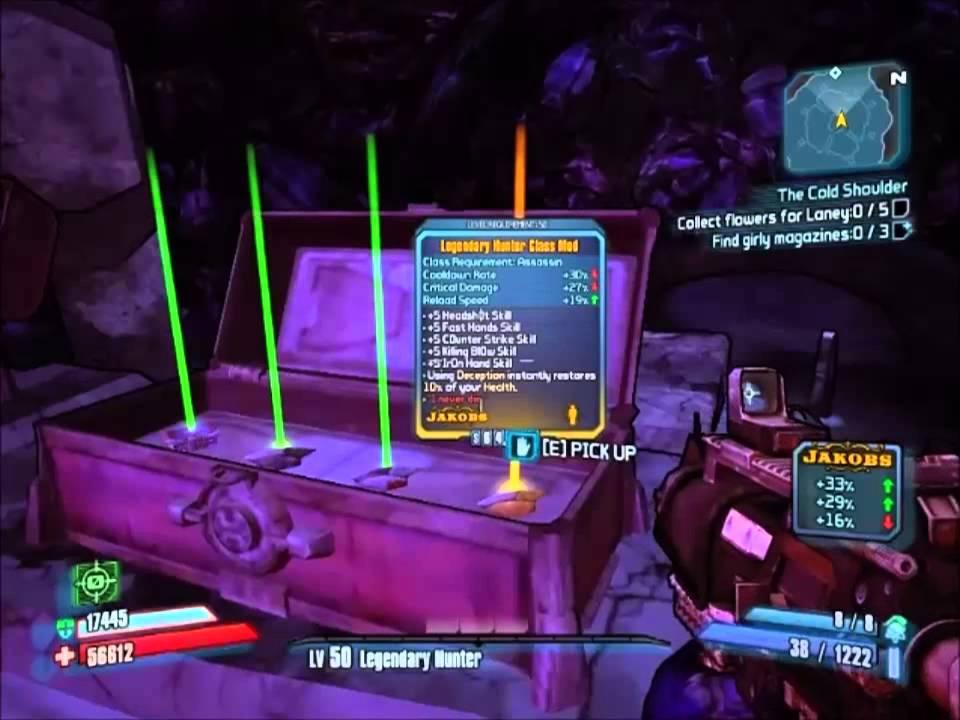 Borderlands 2 Legendray Hunter Class Mod From Treasure Room
