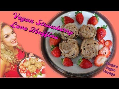 Vegan Strawberry Love Muffin Recipe