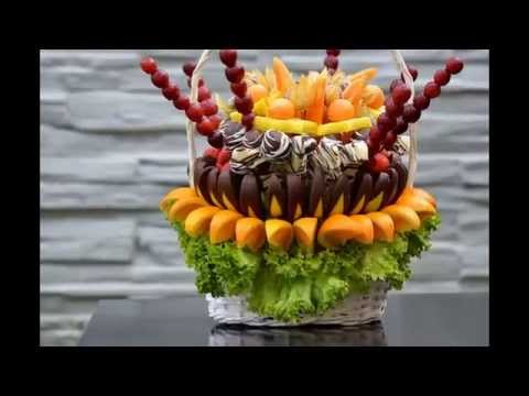 How to Make A Fruit Bouquet. Ovocná Kytice. Great Gift Idea