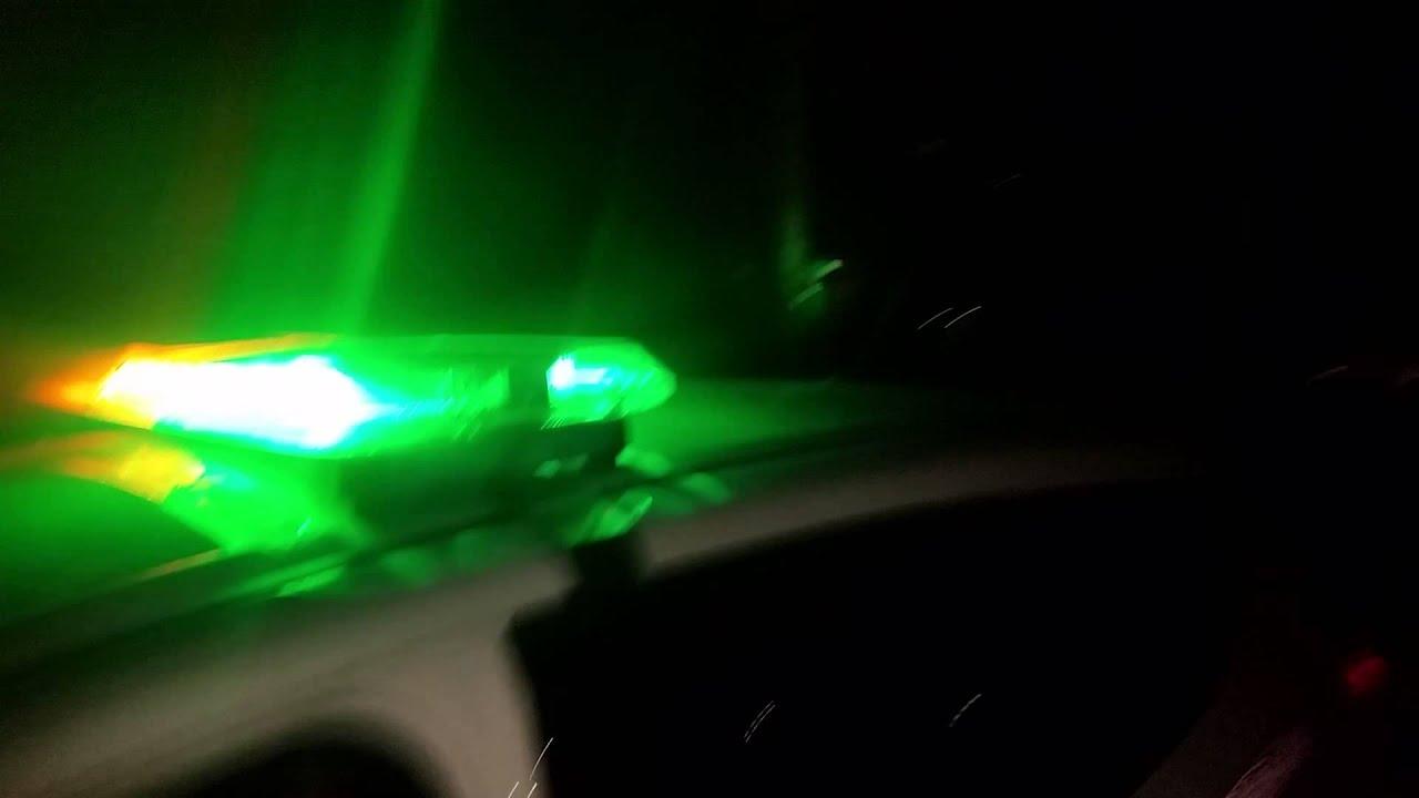 Security green and amber light bar youtube aloadofball Choice Image