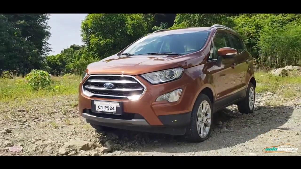 New Ford EcoSport 1.0L EcoBoost Titanium