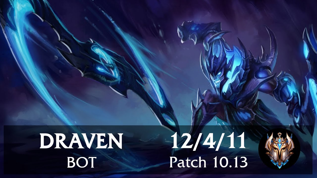Draven Bot vs Twitch   Pinoy Challenger Replay Patch 10.13