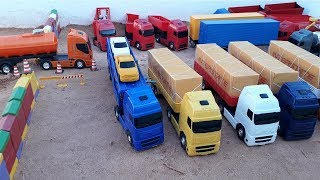 cart and truck collection toys
