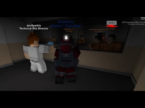 Area - 14 | Nuclear/Gas alarms, riots, a full site lockdown and more! |  Roblox (read desc)