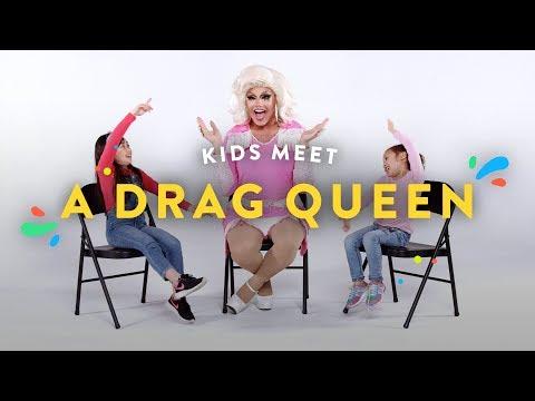 Kids Meet a Drag Queen | Kids Meet | HiHo Kids