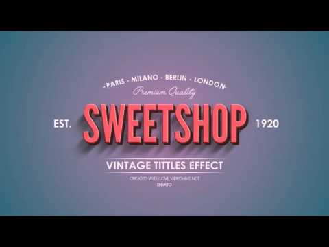 After effects vintage picture 437