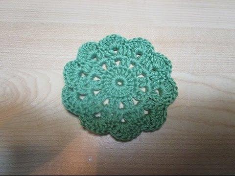 Uncinetto Crochet Sottobicchieri Tutorial Youtube