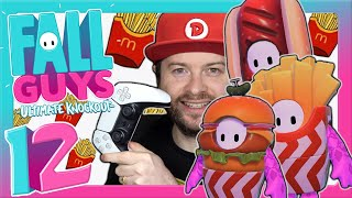 🔴 FALL GUYS: ULTIMATE KNOCKOUT 🏆 #12: Mid-Season 2 Update auf PS5 mit Fast Food Theme