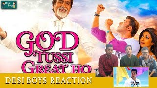 Tujhe Aksa Beach Ghขma Du | God Tussi Great Ho | Reaction Desi Boys |