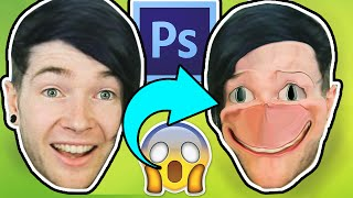 PHOTOSHOPPING YOUTUBE FRIENDS!