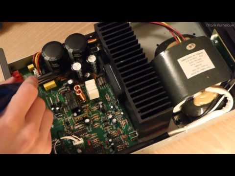 Repair of a NuVo NV-P2100 System Audio Amplifier