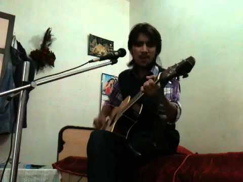 nadaan parindey(rockstar) on guitar......by arpit