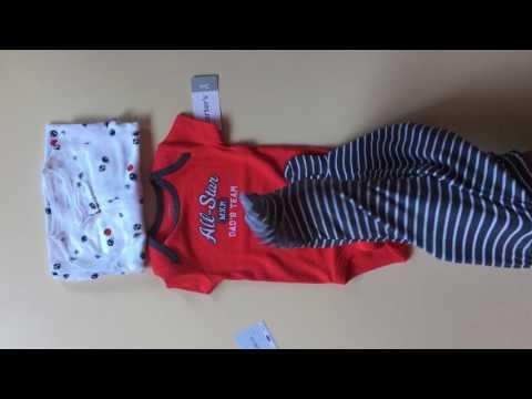 Комплект Carters на выписку для новорожденного Будущая звезда спорта