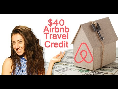 $40 Airbnb Travel Credit - DISCOUNT CODE