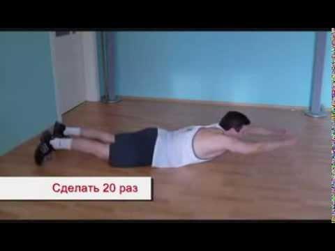 Упражнения для правильной осанки  Обучающее видео