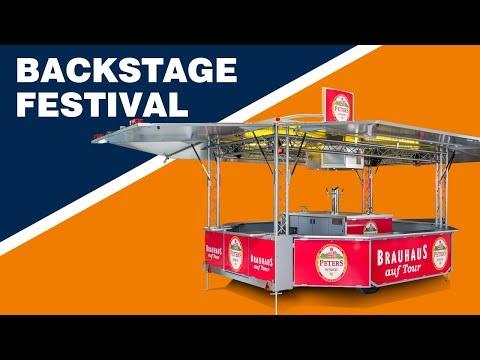 ESSELMANN - Ausschankwagen Backstage Festival