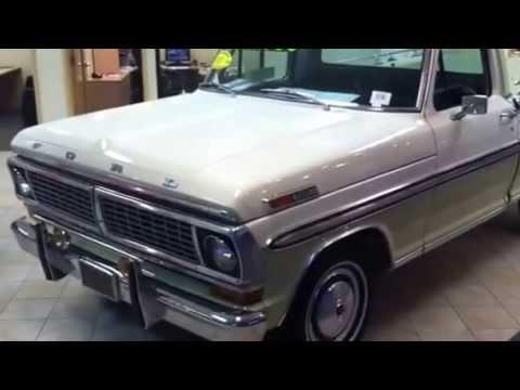 1970 Ford F100 Ranger Xlt Video Youtube