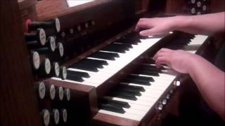 Joseph Jongen: Petite Piece for organ, played by Gregory McAusland