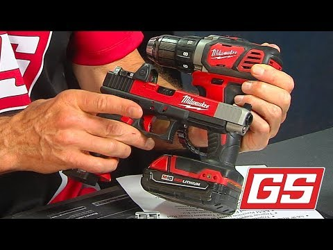 Lenny Magill shows off a Milwaukee fan special G34