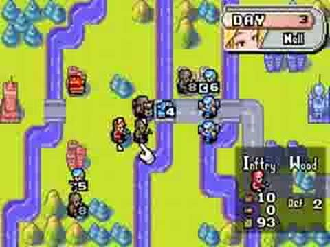 Advance wars gameplay gba