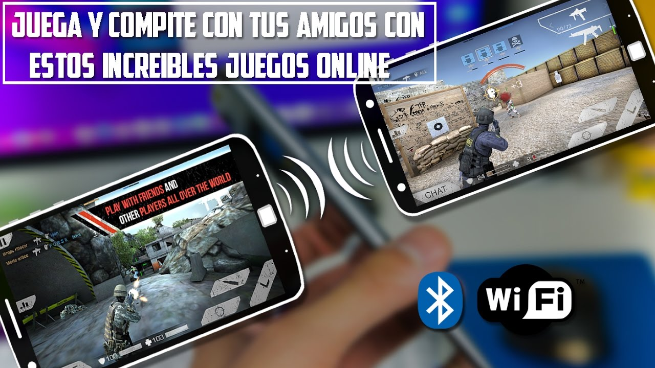Top 5 Juegos Multijugador Bluetooth U Online Carreras Disparos