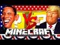 Minecraft: DONALD TRUMP LUCKY BLOCK CHALLENGE | VOTING RACE!!