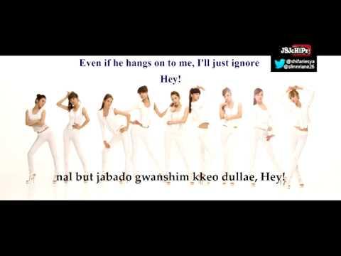 Girls' Generation - Run Devil Run Karaoke (Official Instrumental with Backup Vocal)