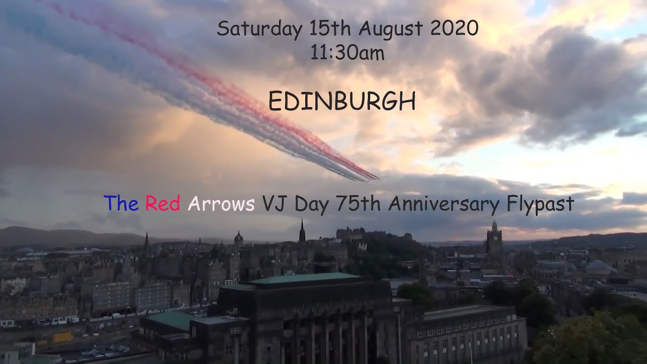 The Red Arrows 75th VJ Day Teaser Trailer