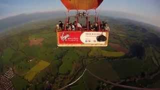 Virgin Balloon Flight Monmouth (South Wales)