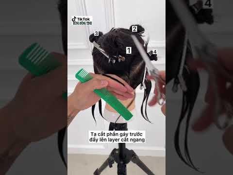 Dạy cắt tóc bob kỹ thuật mới nhất 2021 | hùng đông tinh salon