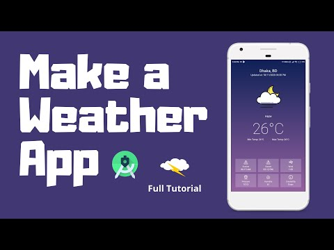 Make a Weather App for Android   Android Studio   Kotlin