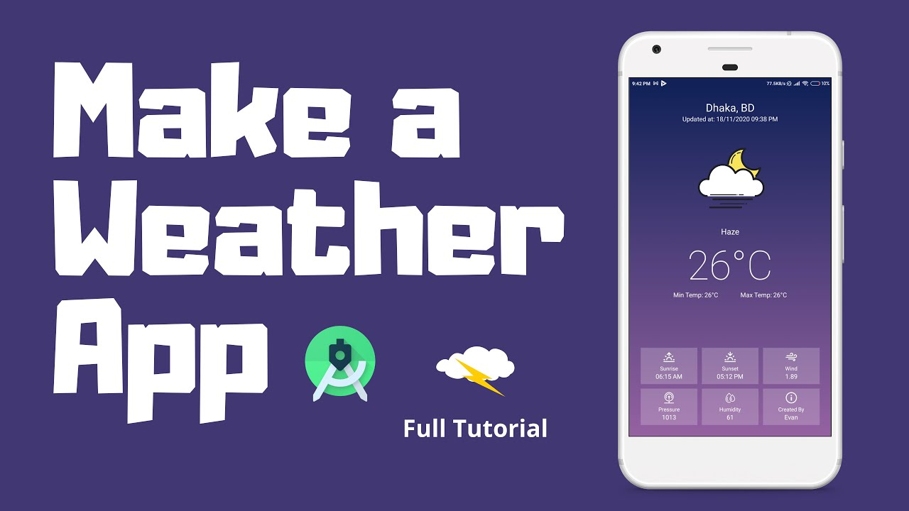 How to Make a Weather App using Kotlin for Android